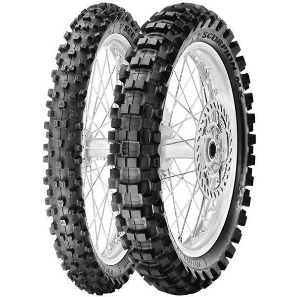 Pirelli Scorpion MX eXTra 110/90-17 60M TT NHS DOT3017 Tył