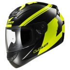 Kask LS2 FF352 ROOKIE FLUO BLACK HI-VIS YELLOW