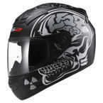 Kask LS2 FF352 ROOKIE X-RAY MATT BLACK