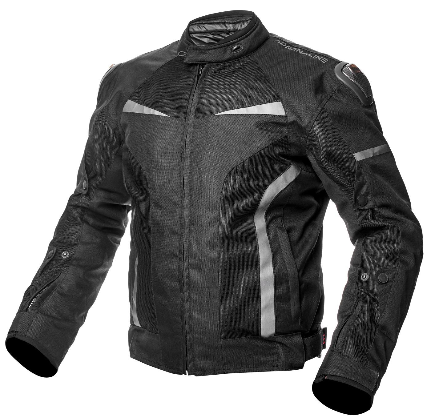 kurtka motocyklowa mesh czarna