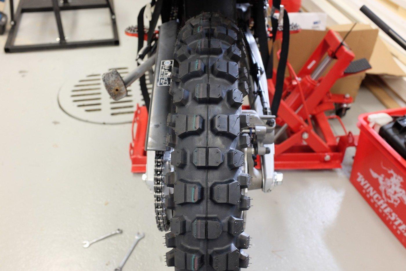 Pirelli MT21 Rallycross Tyre 110 80 18