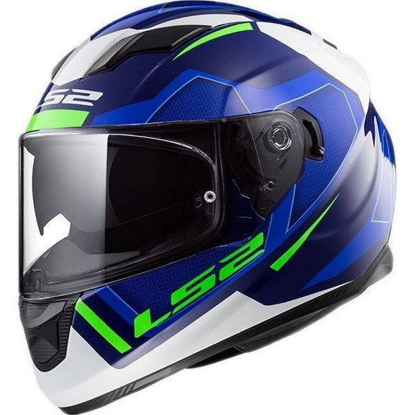 Kask LS2 FF320 STREAM AXIS BLUE WHITE