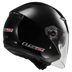 Kask LS2 OF569.2 TRACK GLOSS BLACK
