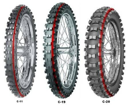 Mitas C-19 Super Light 90/90-21 54R TT DOT2020 (zielony pasek)