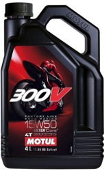 Motul 300V Factory Line Double Ester 15W-50 4 litry